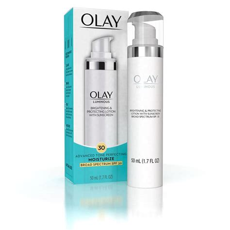 Olay Lotion olay luminous brightening protecting lotion with
