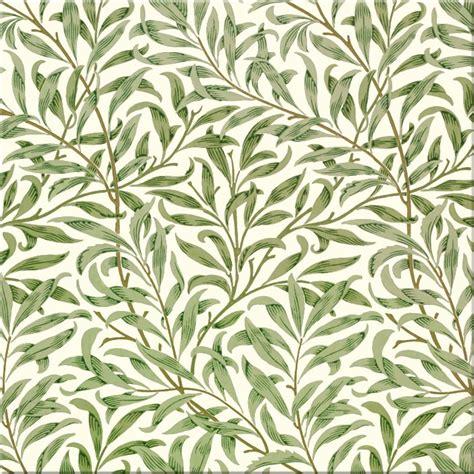 Backsplash Tile Patterns William Morris Willow Bough Pattern Arts Amp Crafts Tiles