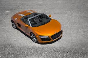 Audi R8 Spyder 2014 2014 Audi R8 Spyder Top View Photo 13