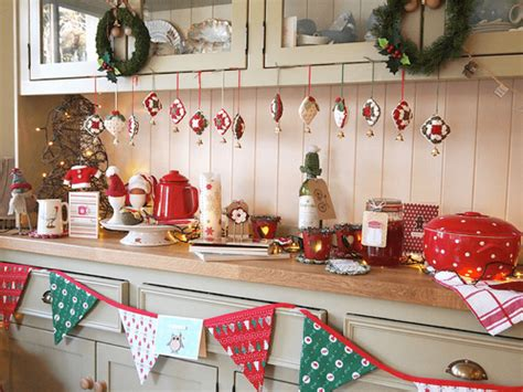 how to decorate the house a christmas kitchen the kitchen think