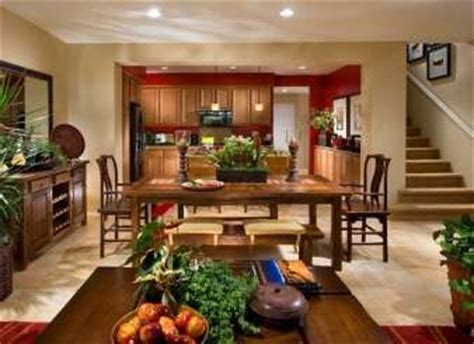 paint color 8223m sand on all walls with ac116n roasted pepper accent in kitchen photo
