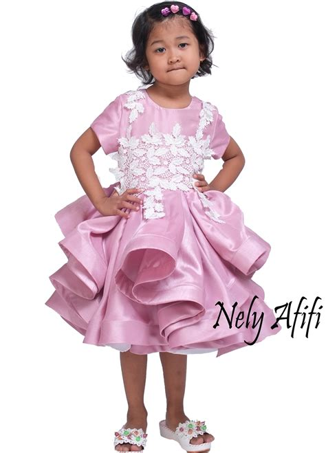 Dress Anak Prada Lace baju pesta anak archives wedding dress muslimah designer