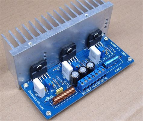 Kit Active Speaker Power Supply 2200 Watt Pmpo Bx 028 41 1 circuit zone electronic projects electronic schematics diy electronics