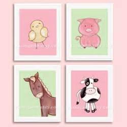 Farm Animal Nursery Decor Nursery Nursery Decor Baby Nursery Farm Animals