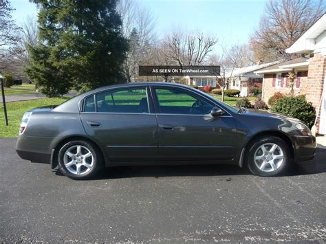 nissan coupe 2006 2006 nissan altima sl sedan 4 door 2 5l
