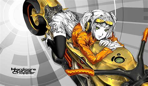 imagenes anime niñas fondos de pantalla rubio nia anime chicas motocicleta