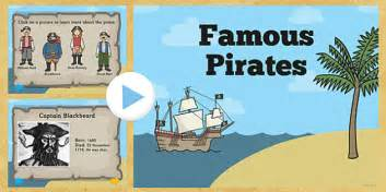 Famous Pirates Powerpoint Pirates Famous Pirates Pirates Powerpoint Pirate Powerpoint Template