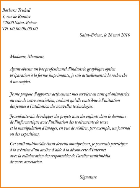 Exemple De Lettre De Motivation Pour Tudiant 7 lettre de motivation 233 tudiant exemple lettres