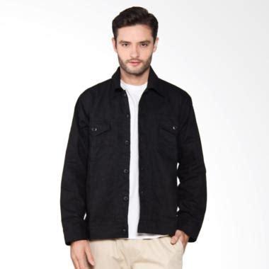 Jaket Pria Babyterry Hitam 2 jual hemmeh kanvas jaket pria hitam harga kualitas terjamin blibli