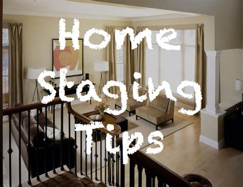 staging a house for sale tips