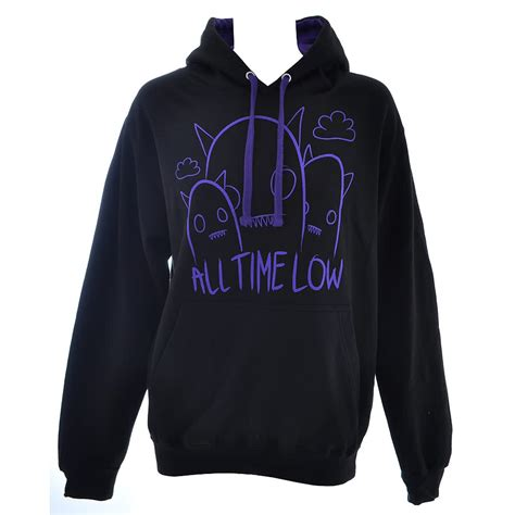 all time low hoodies black ghostline jumper pullover
