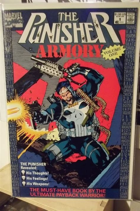 the punisher volume 1 0785154434 the punisher armory vol 1 comics cartoons kid posts and i had