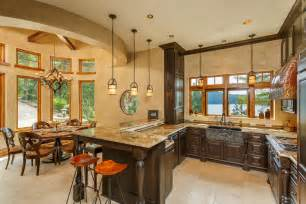 Standard Kitchen Island Size great rustic kitchen zillow digs