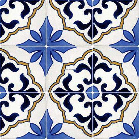 spanish tile pattern mexican tile designs stencil mexican talavera frost