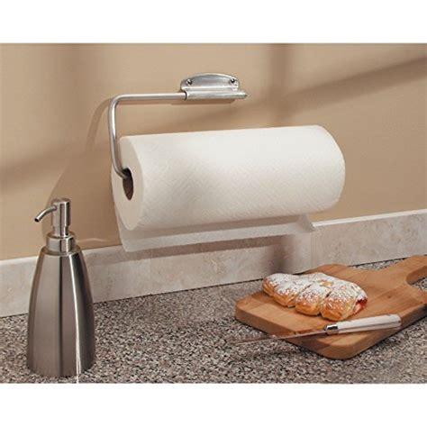 Interdesign Forma Swivel Paper Towel Holder For Kitchen Paper Towel Holder Inside Cabinet