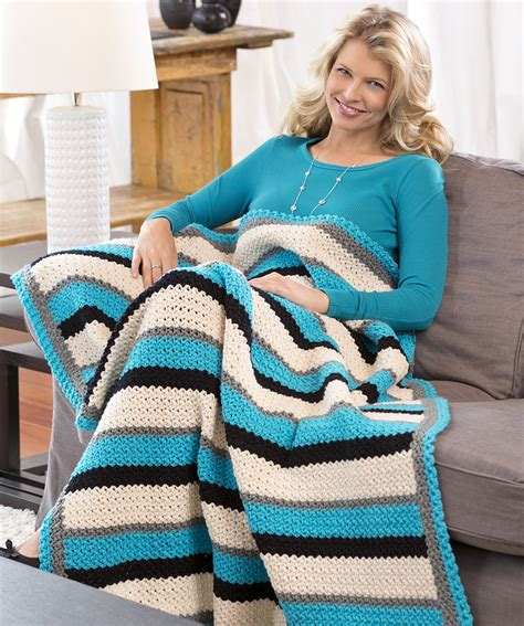 pattern for thin yarn through thick thin throw crochet pattern crochet