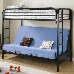 fordham futon metal bunk bed