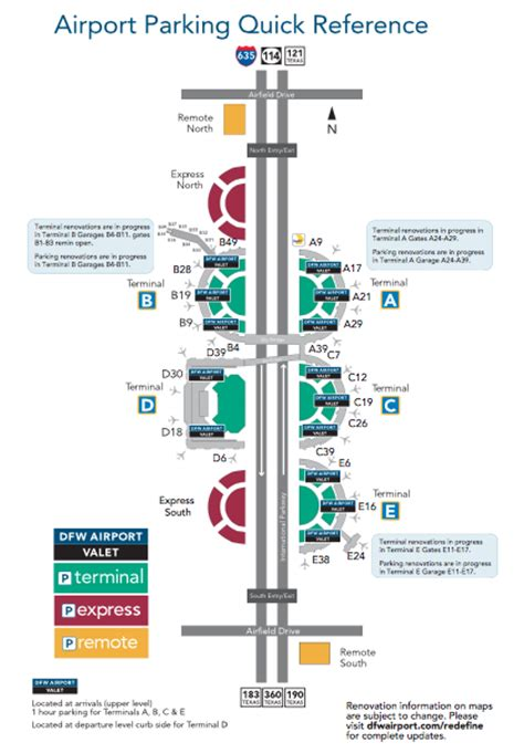 dallas airport map dallas fort worth airport parking guide find cheap dfw