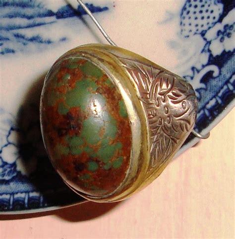 Pirus Jadoel lapak barang jadoel lbj batu pirus tua urat emas terjual