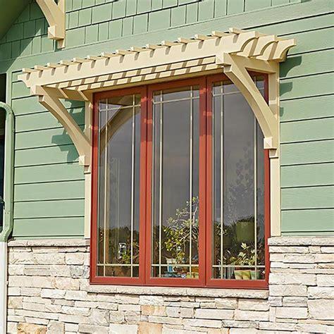 window  door arbor woodworking plan  wood magazine