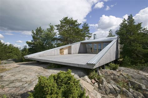 design hill finland 5 geometric house designs with super sophisticated wood