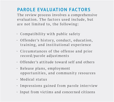 Character Letter Parole Board about the virginia parole board