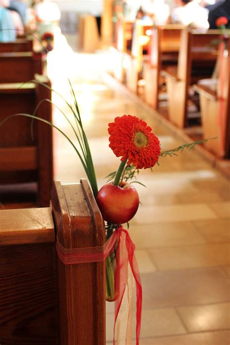 Hochzeitsdeko Kirche by Deko Zur Hochzeit In Der Kirche Gro 223 E Bildergalerie