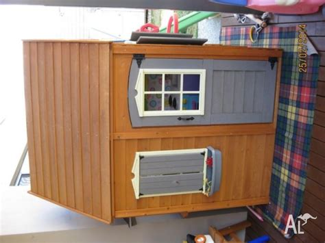 big backyard playhouse cubby house big backyard catalina timber playhouse for sale in carlisle western