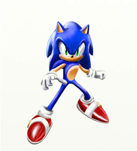 painting sonic sonic the hedgehog signature painting by silversonic2000