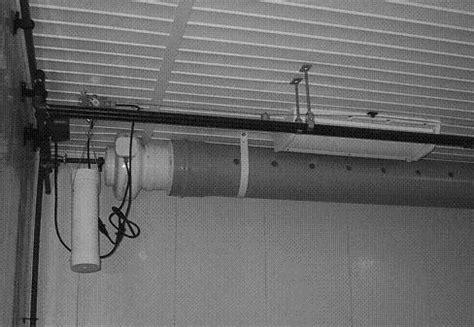 air duct assist fan barn ventilation