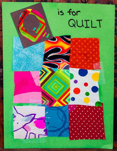 Paper Quilt Craft - q is for quilt they enjoyed this so much that they each