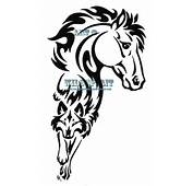 Tribal Horse And Wolf Tattoo Design  Tattoobitecom