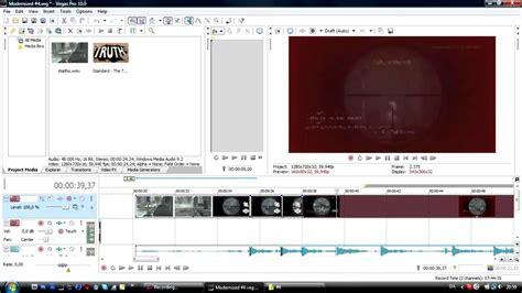 tutorial edit video sony vegas tutorial basic editing sony vegas modernized 4 youtube