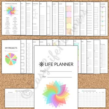 x small printable budget planner set sized 3 75x6 75 life planner personal size filofax from easylifeplanners