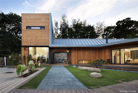 modern home design korea the ssangdalri house based upon the principles of feng shui
