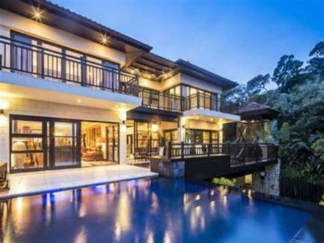 Modern Two Story House zimbali beach house