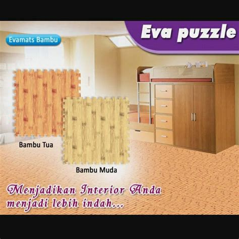 Matras Bermain Anak Evamat Polos karpet puzzle busa edumats huruf gambar daftar harga
