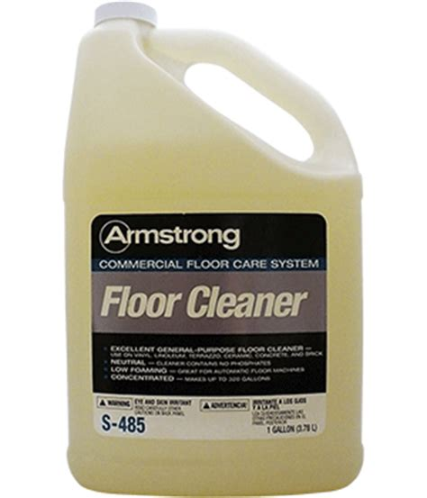 no rinse floor cleaner vct floor maintenance