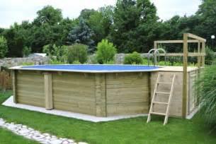 schwimmbad selbst bauen garten pool selber bauen eine verbl 252 ffende idee