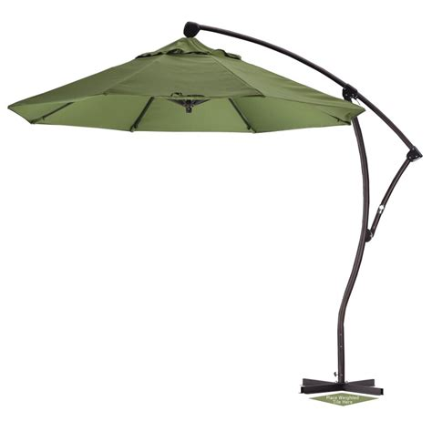 Patio Offset Umbrellas 9 Offset Patio Umbrella Sunbrella