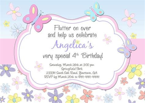 printable birthday invitations butterfly printable scrapbooking project ideas craft and