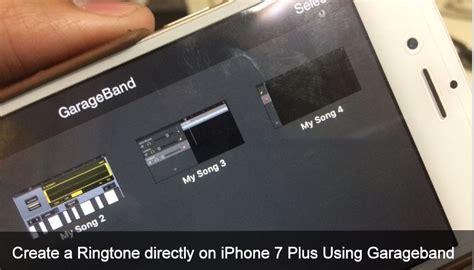 create  ringtone   iphone