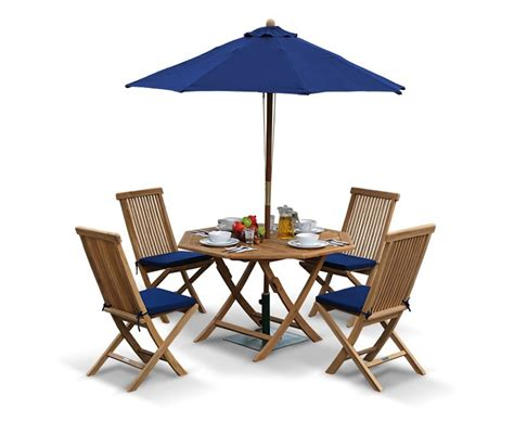 Folding Patio Table And Chairs Suffolk Octagonal Folding Garden Table And Chair Set Outdoor Patio Teak Dining Set