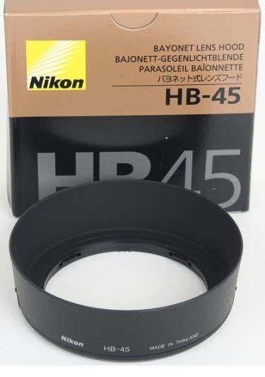 Diskon Lenshood Nikon Hb 45 nikon hb 45 hb45 lens for 18 55mm vr lens 4941 163 15 44