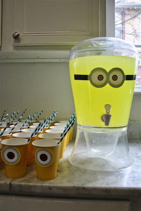 cheerful  easy minion party ideas shelterness