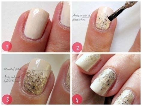 easy nail art using glitter gradient glitter nail art tutorial 183 how to paint a