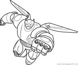 baymax inflight coloring free big hero 6 coloring pages coloringpages101