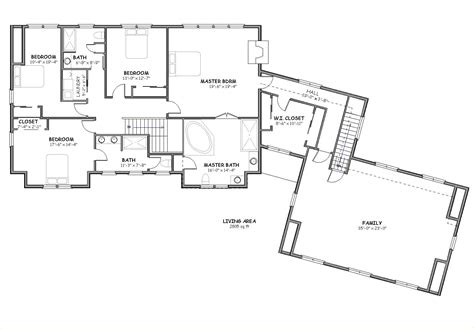 Cape cod house plan big country house plan the house plan site