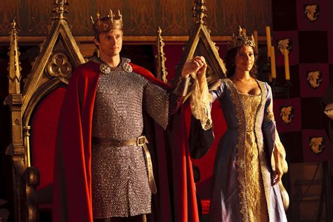 the king arthur and king arthur and queen guinevere finally geeky things merlin tv series fandom