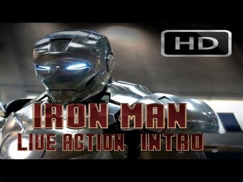 iron man action intro youtube